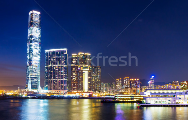 Kowloon skyline Stock photo © leungchopan