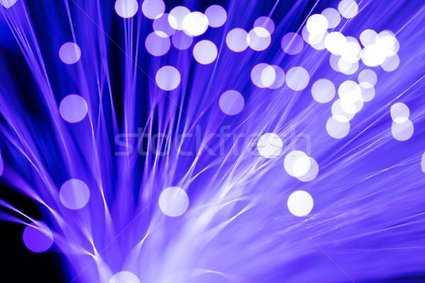 オプティカル 明るい 色 インターネット 光 技術 ストックフォト © leungchopan