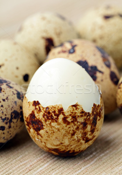 quail eggs Stock photo © leungchopan