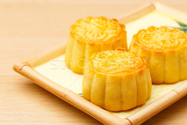 Chinese traditional mooncake Stock photo © leungchopan
