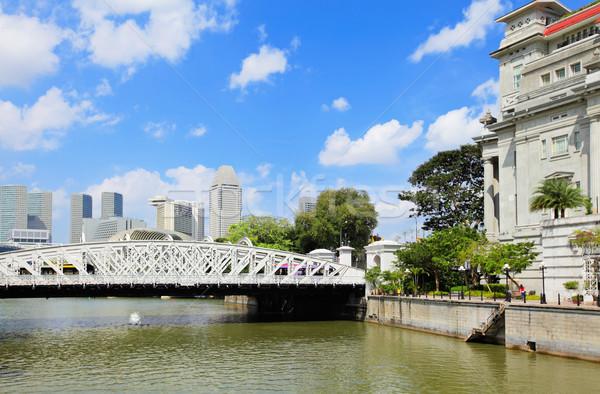 Singapore city  Stock photo © leungchopan