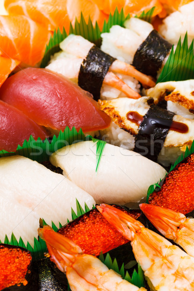 Japanese sushi Stock photo © leungchopan