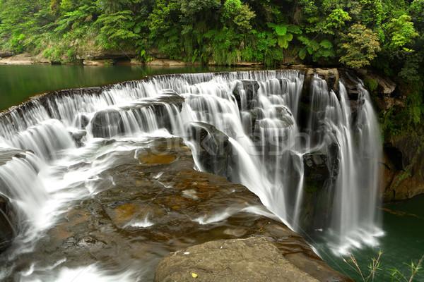 waterfall in shifen taiwan Stock photo © leungchopan