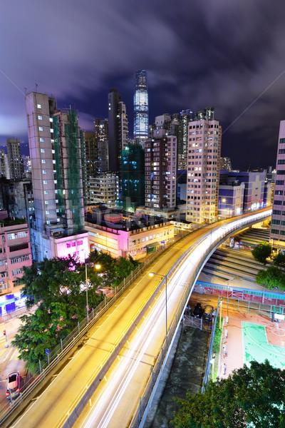 downtown and transport Stock photo © leungchopan
