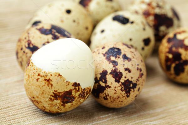 quail egg Stock photo © leungchopan