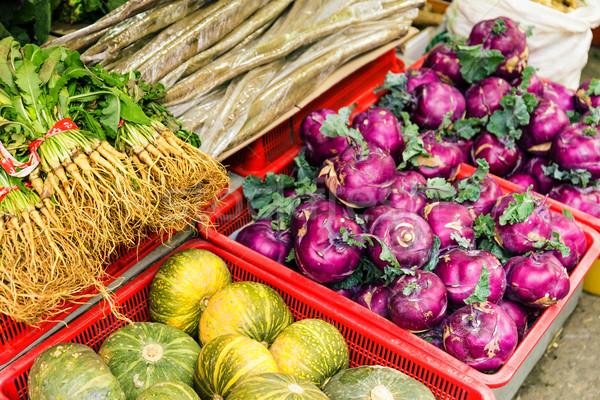 Vegetable in food market Stock photo © leungchopan