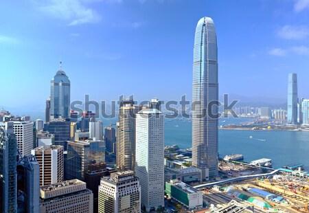 ストックフォト: 香港 · オフィス · 建物 · 市 · 風景 · 美