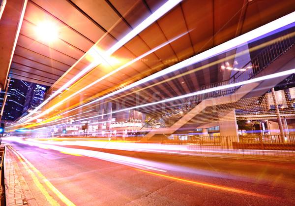 движения как город бизнеса дороги аннотация Сток-фото © leungchopan