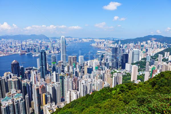 Hong Kong urban city Stock photo © leungchopan