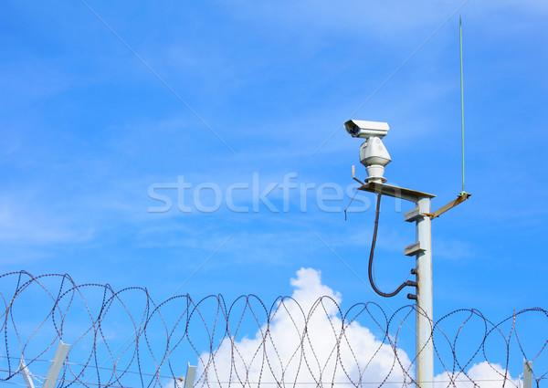 Weather proof surveillance camera Stock photo © leungchopan