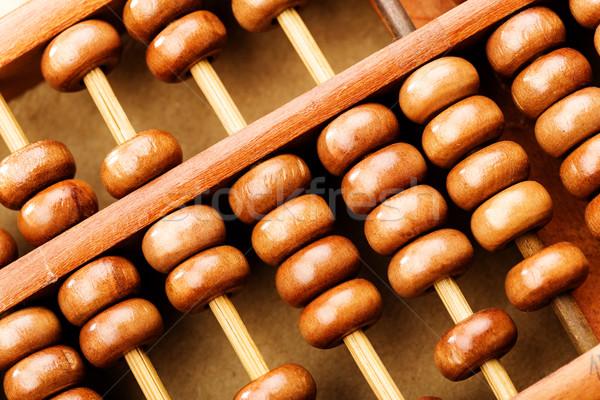 Chinese abacus Stock photo © leungchopan