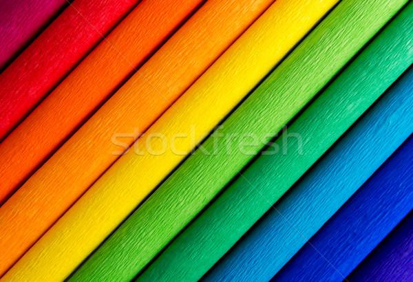 Rainbow coloré lignes texture peinture fond Photo stock © leventegyori