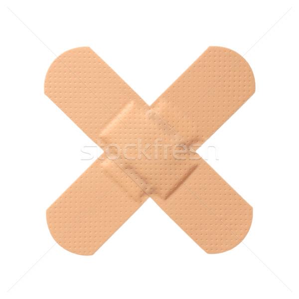 ストックフォト: 応急処置 · 石膏 · 医療 · 健康 · 病院 · 痛み