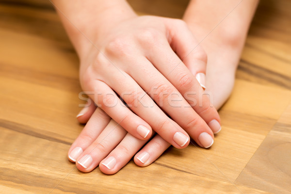 Hand and nail care Stock photo © leventegyori