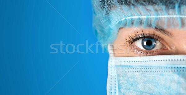 хирург больницу выстрел лице врач Сток-фото © leventegyori