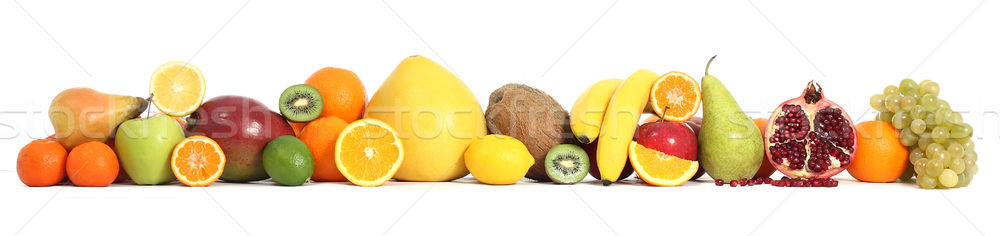 Voedsel vruchten appel achtergrond groep citroen Stockfoto © leventegyori