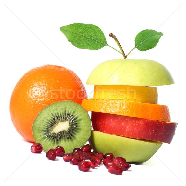 Fresche frutti natura mela verde Foto d'archivio © leventegyori