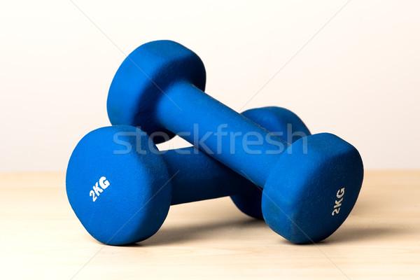 Fitness dumbbells Stock photo © leventegyori