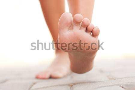 Legs walking Stock photo © leventegyori