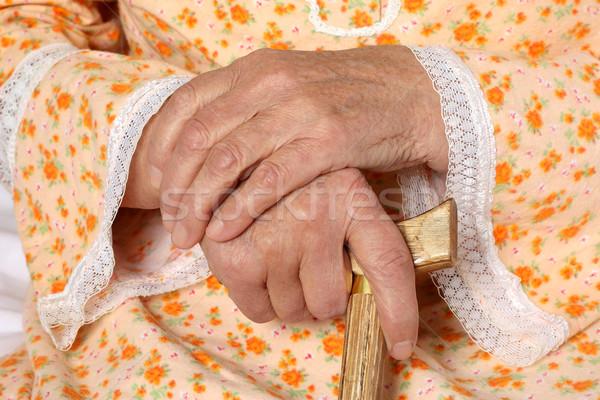 Old hands Stock photo © leventegyori