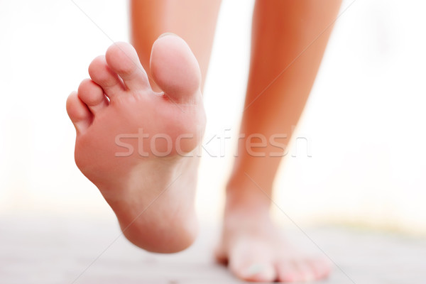 Foot outside Stock photo © leventegyori
