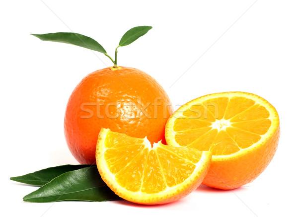 Orange fruit Stock photo © leventegyori