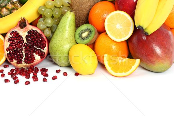 Fruit background Stock photo © leventegyori