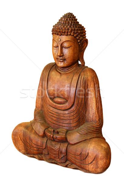Buddha spiritualità statua isolato corpo bellezza Foto d'archivio © leventegyori