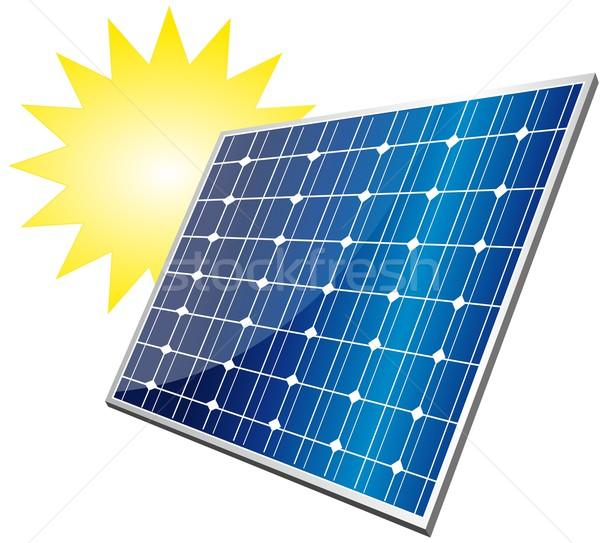 solar panel Stock photo © Li-Bro