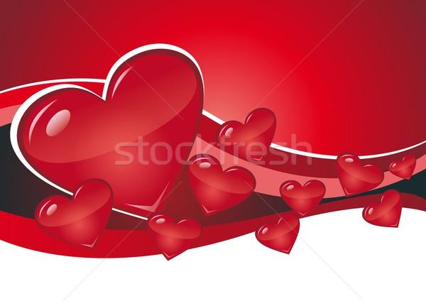 hearts Stock photo © Li-Bro