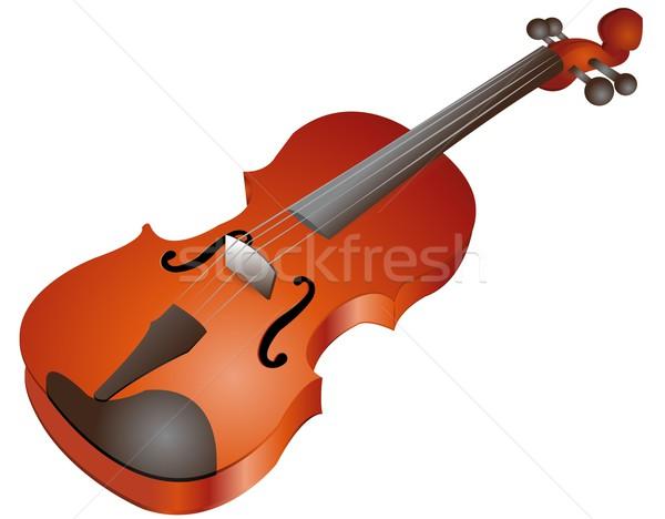 バイオリン 実例 コンサート サウンド バンド 楽器 ストックフォト © Li-Bro