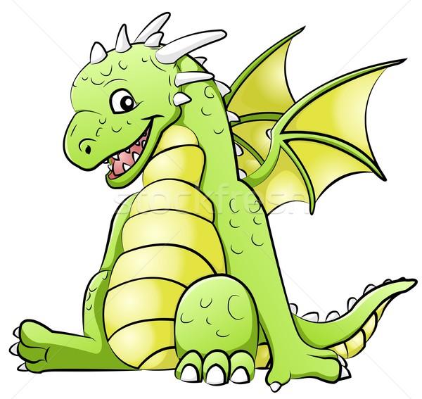 dragon Stock photo © Li-Bro