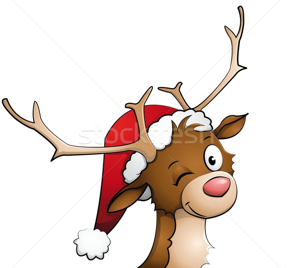 Reindeer Stock photo © Li-Bro