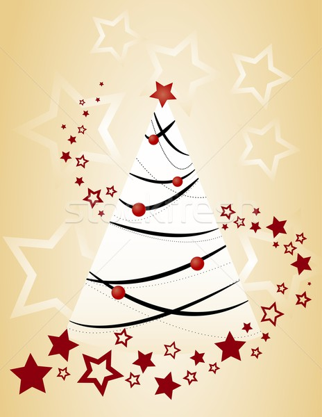 christmas tree Stock photo © Li-Bro