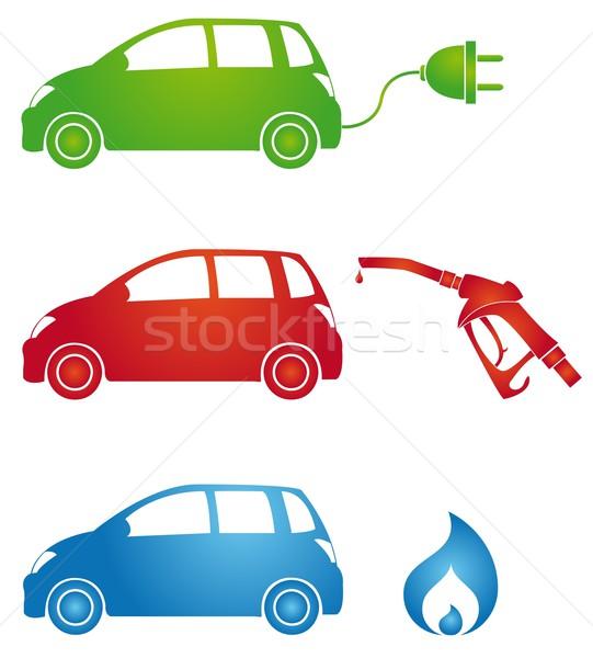 different fuels Stock photo © Li-Bro