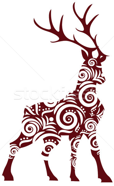 ornamental stag Stock photo © Li-Bro
