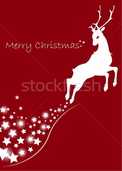 reindeer Stock photo © Li-Bro