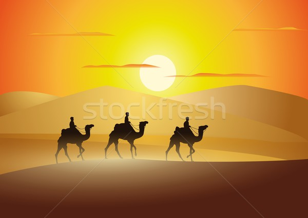 caravan Stock photo © Li-Bro