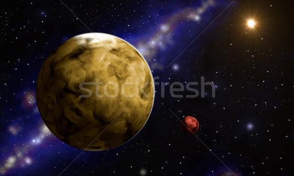 planet Stock photo © Li-Bro