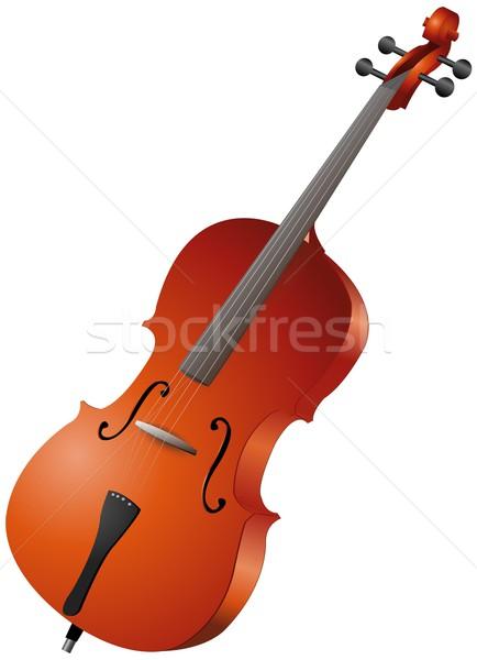 violoncello Stock photo © Li-Bro