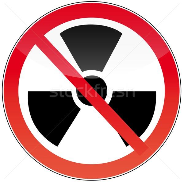against nuclear power Stock photo © Li-Bro