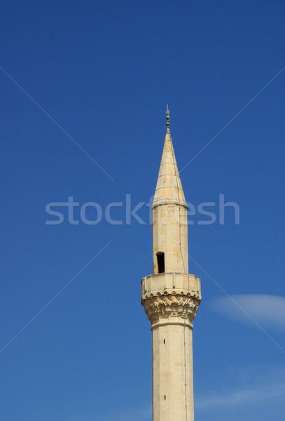 Mostar mosque 06a Stock photo © LianeM