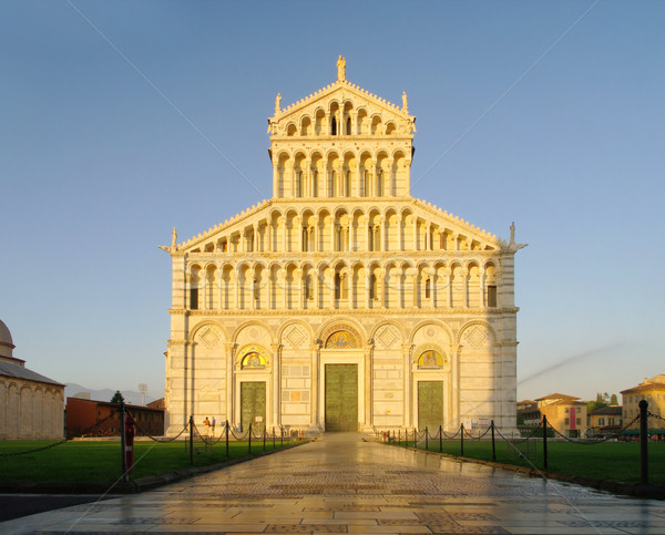 Pisa cathedral 07 Stock photo © LianeM