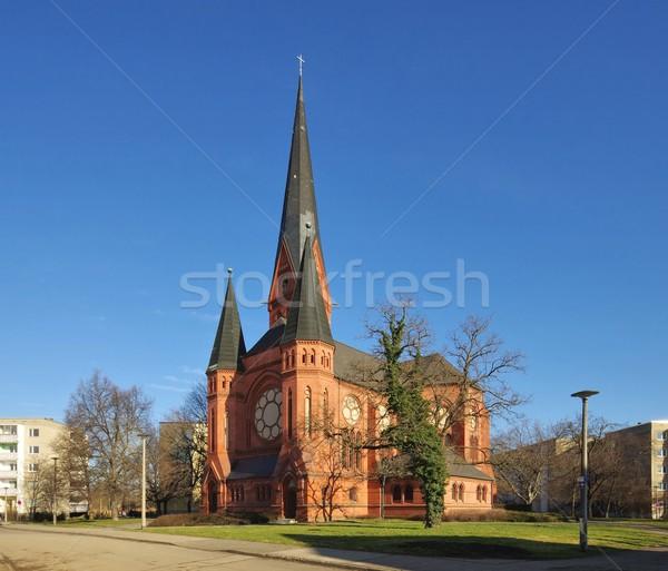 Dessau Pauluschurch  Stock photo © LianeM