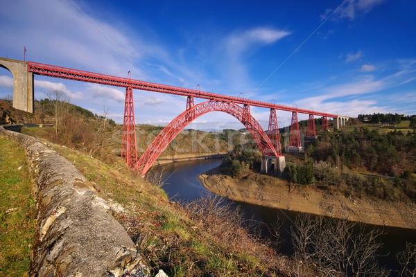 Garabit viaduct in France Stock photo © LianeM