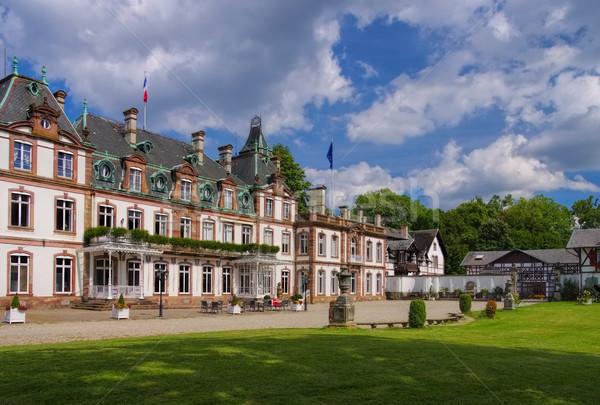 Strassburg Chateau de Pourtales Stock photo © LianeM