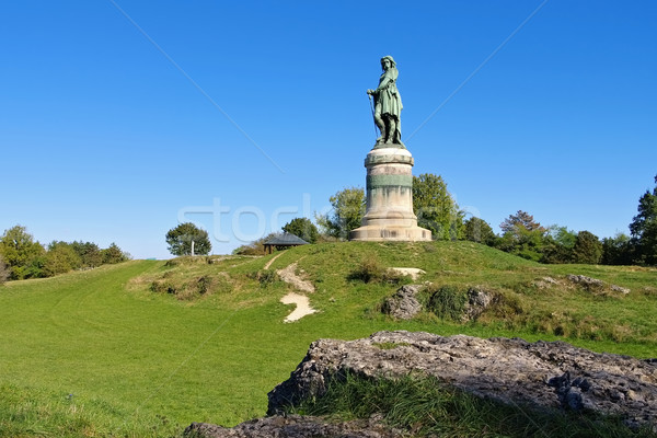 Vercingetorix monument in Burgundy Stock photo © LianeM