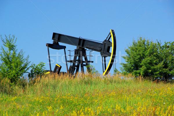 oil pump Stock photo © LianeM