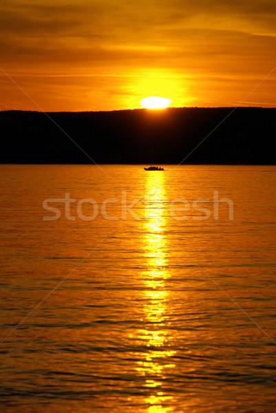 Krk sunset 07 Stock photo © LianeM