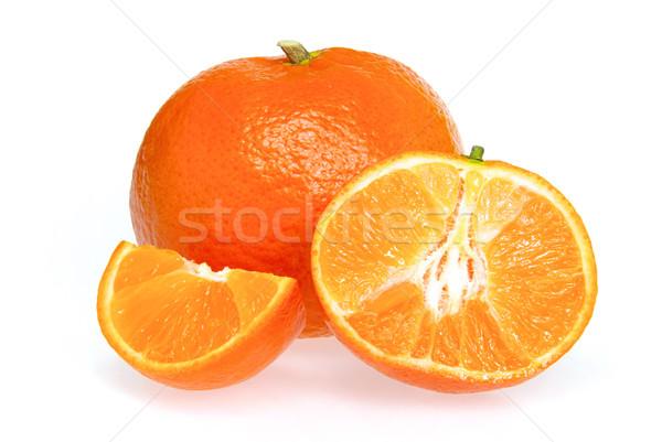 tangerine isolated 11 Stock photo © LianeM